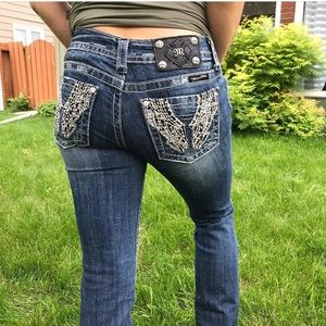Miss Me Mid Rise Bootcut Jeans Size 29